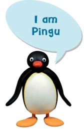 pingu meet the characters
