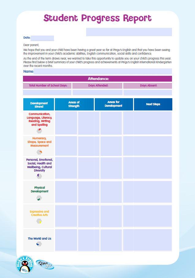 kindergarten template