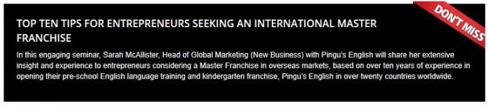 international franchise